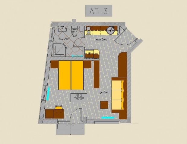 Apartment 3 ground floor